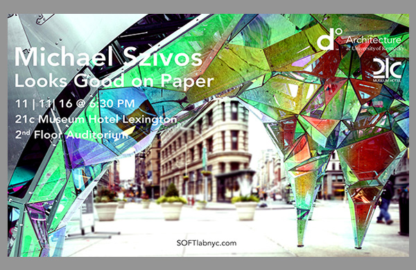Looks Good on Paper | A Lecture by Michael Szivos