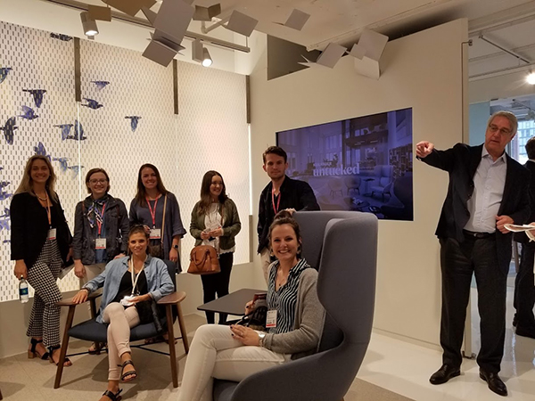 SOI Students Attend NeoCon 2018