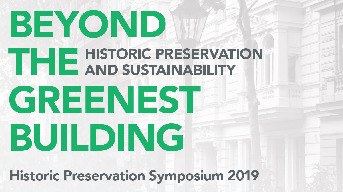 2019 Historic Preservation Symposium | March 29